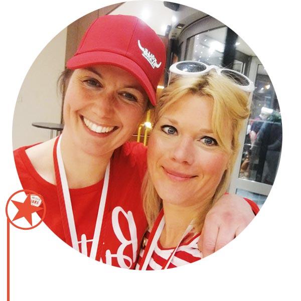Simone Rong und Johanna Schaede